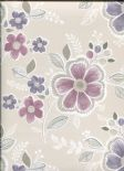 Ami Charming Prints Wallpaper Chloe 2657-22203 By A Street Prints For Brewster Fine Decor
